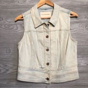 Anthropologie Pilcro Denim Vest Size S